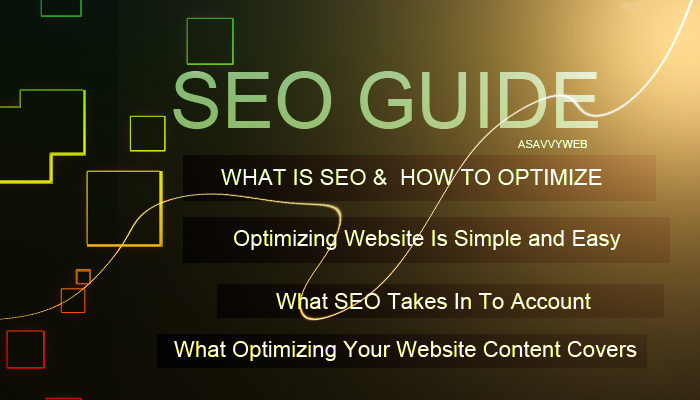 What is SEO and Optimizing Your Website Is Simple and Easy