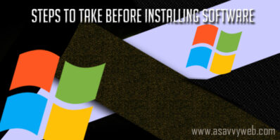 Guidelines and Steps to Take Before Installing Software