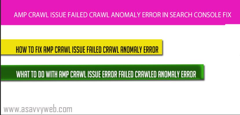 amp-crawl-error-issue