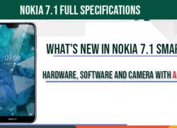 Nokia 7.1-full-specifications