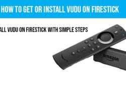 How to install Vudu on firestick