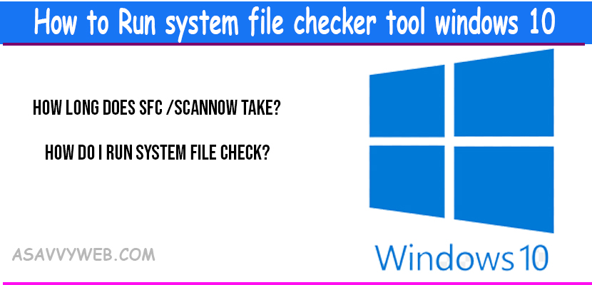 how-to-run--system-file-checker-tool-in-windows-10