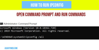 how-to-run-ipconfig-in-windows