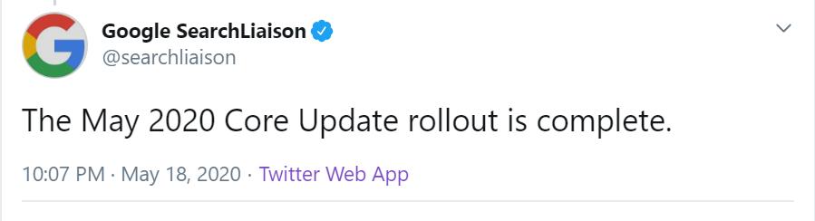 google-algoirthm-update