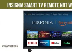 Insignia smart tv remote not working and sensors