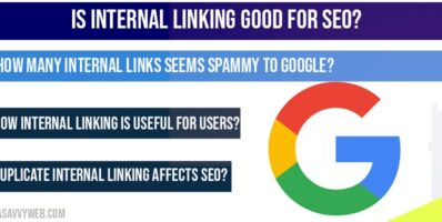 Is internal linking good for SEO