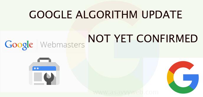 Goolge Algorithm Update