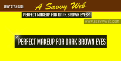 perfect makeup for eye pomade brown eyes