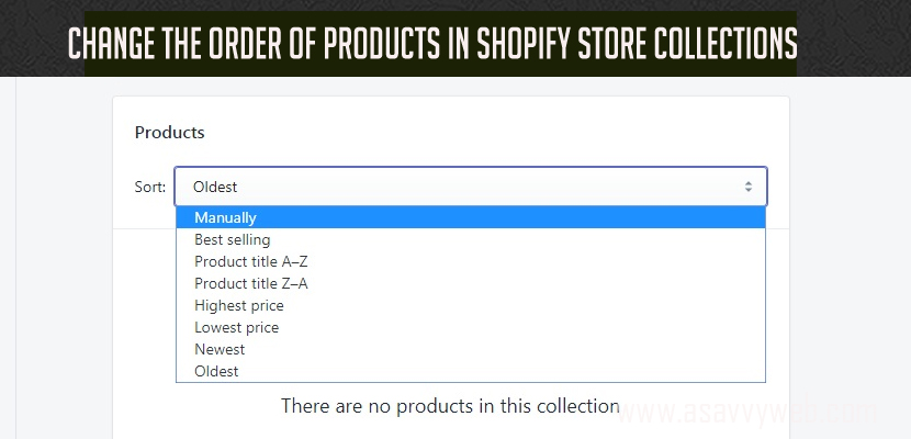 Change the Order of Products in Shopify Store Collections - thumb