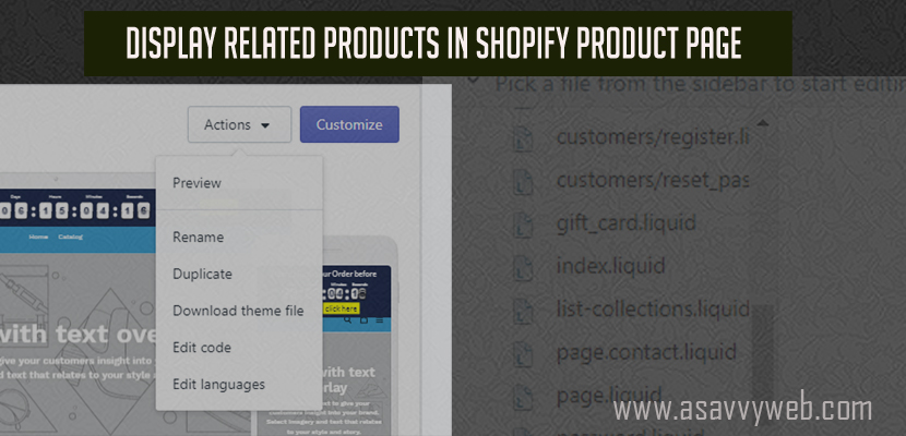 Display Related Products in Shopify Product Page Recommended Products - thumb