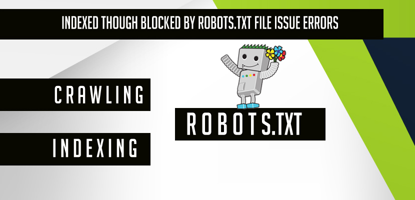 Indexed though blocked by robots