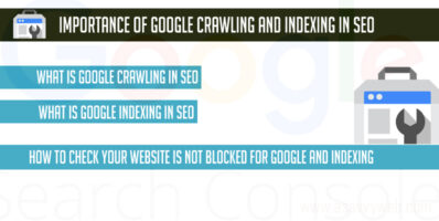 Importance of Google Crawling and Indexing in SEO