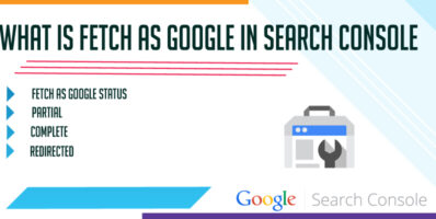What is Fetch as Google in Search Console Errors