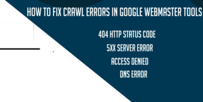 How to Fix Crawl Errors in Google Webmaster Tools