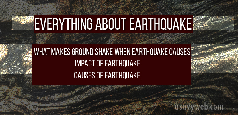 Everything About Earthquake Types, Impact, Measure and Earthquake Causes