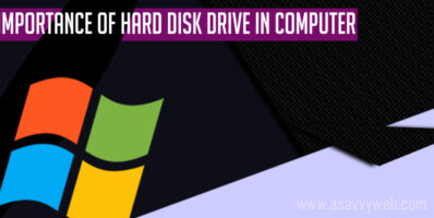 importance of hard disk drive in computer