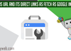 Crawl This Url And its Direct Links as Fetch as Google in Search Console