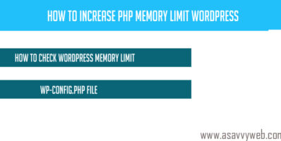 How to Increase PHP Memory Limit Wordpress