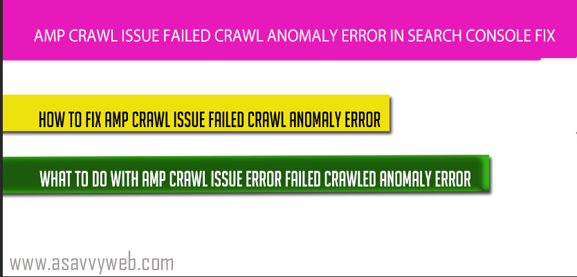 amp-crawl-error-issue
