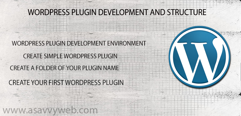 WordPress Plugin Development and Structure