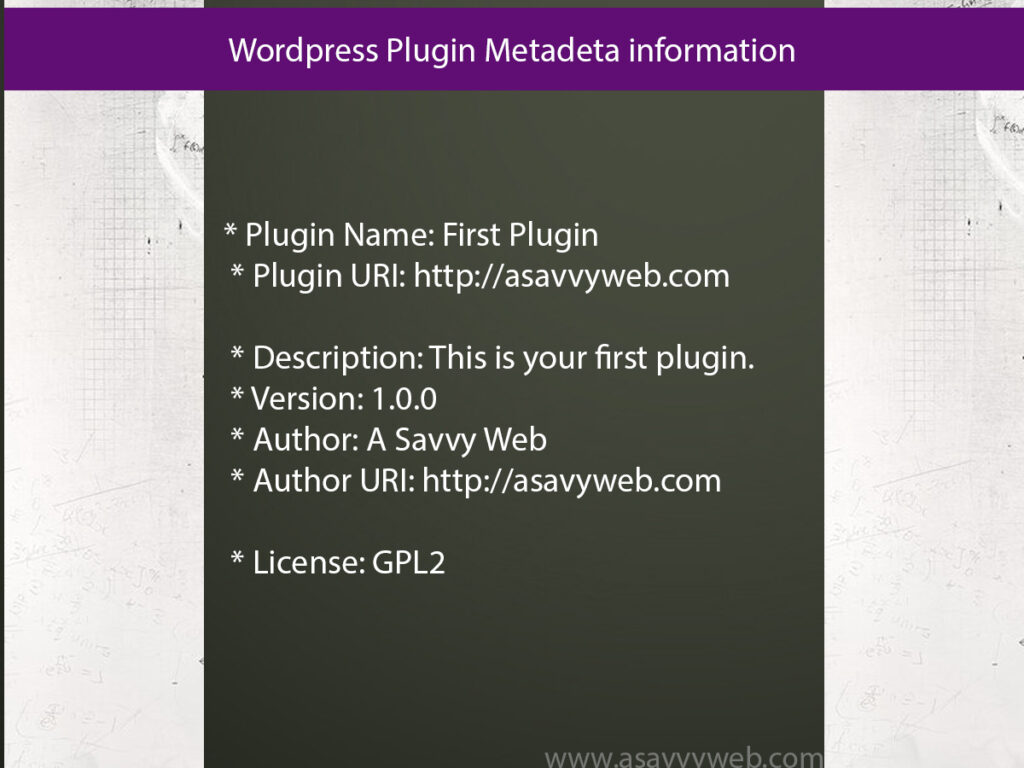 wordpress-plugin-meta-deta-information