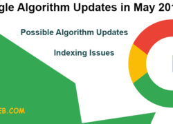 google algorithm updates in May 2019