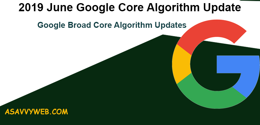 2019-June-Google-Core-Algorithm-Update