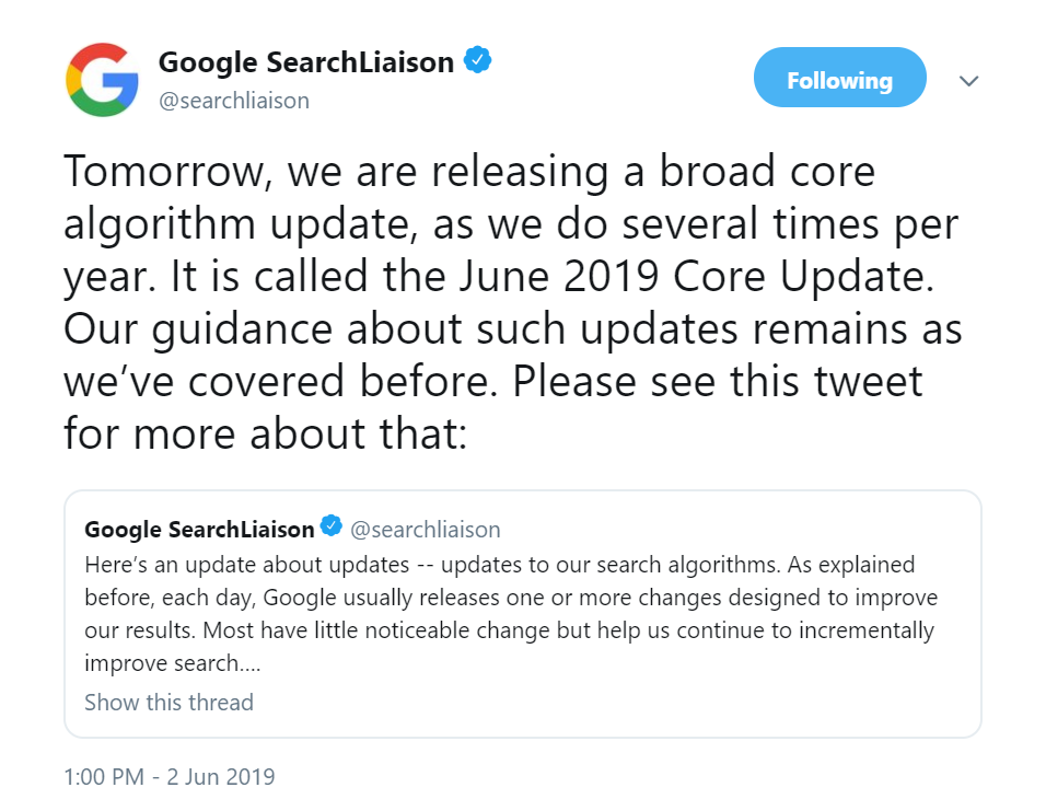 2019-june-google-broad-core-algorithm-update