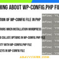 Learn Everything About wp-config