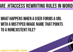 What are htaccess Rewriting Rules in WordPress