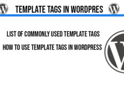 template-tags-in-wordpress