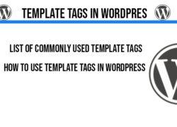 template-tags-in-wordpress