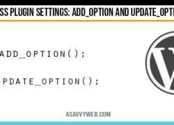 wordpress-plugin-settings-add_options-update_options