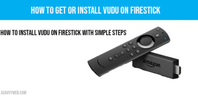 How to install Vudu on firestick