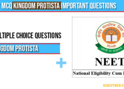 Neet MCQ Kingdom Protista important questions