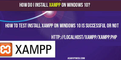 how-to-install-xampp-on-windows-10
