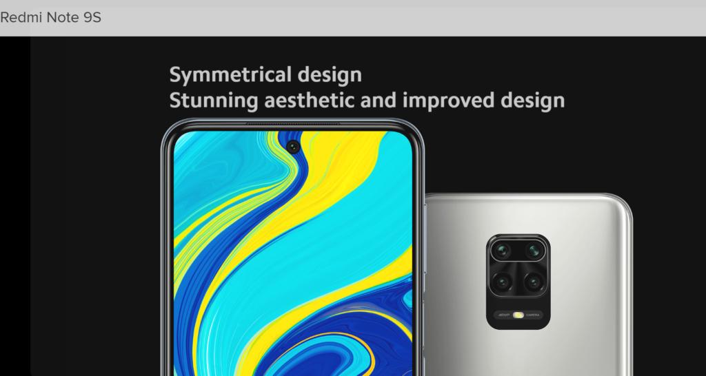 redmi-note-9s-outstanding-design