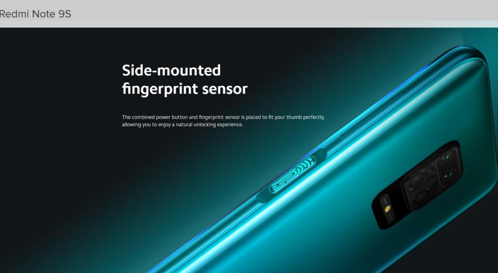 redmi-note-9s-side-mounted-fingerprint-sensor-tounlock