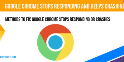 Google Chrome stops responding and Keeps Crashing and Extension
