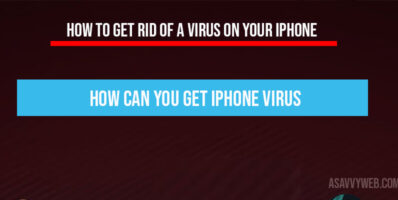How to Get Rid of a Virus on Your iPhone