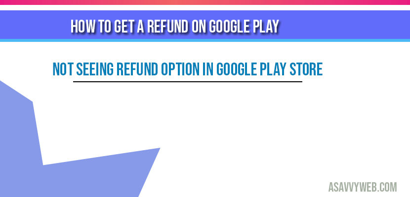How to Get a Refund on Google Play