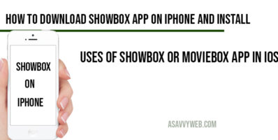 How to download Showbox App on IPhone and Install