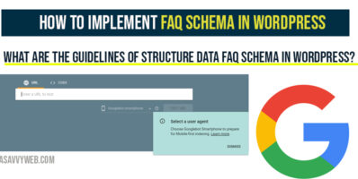 How to Implement FAQ Schema in WordPress-1