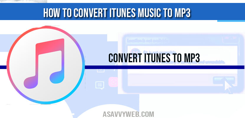 how-to-convert-itunes-to-mp3
