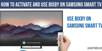 How to Activate and Use Bixby on Samsung Smart TV