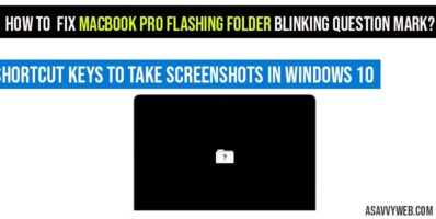 How to fix MacBook Pro flashing folder blinking question mark