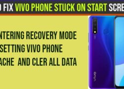 Vivo Phone Stuck on Start Screen Logo