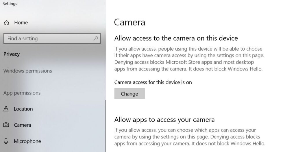 privacy-settings-camera-app