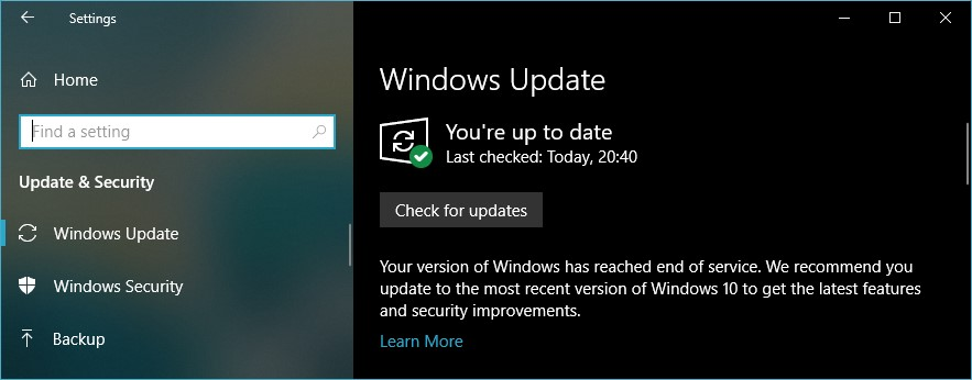 windows 10 settings for gaming-disable-automatic-updates