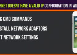Fix Ethernet Doesnt Have a Valid IP Configuration in Windows 10